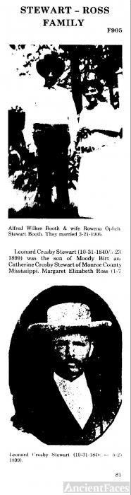 Rowena Ophelia (STEWART) BOOTH