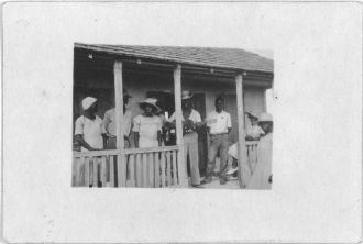 [Singers & dancers, New Bight, Cat Island, July 1935]