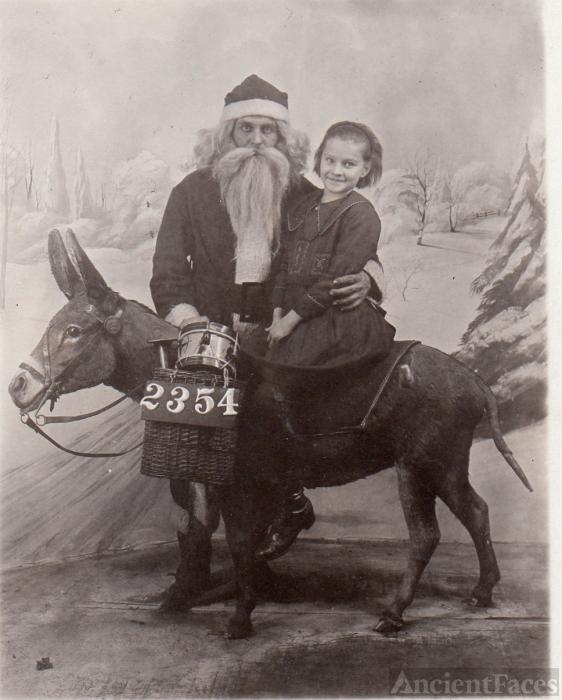 Old-School Santa Claus