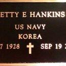 Betty Elnora Barley gravesite