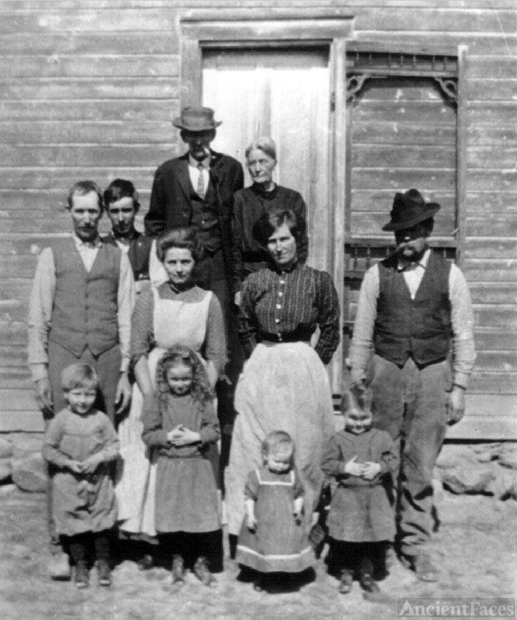 Clark Family on Stucker Mesa