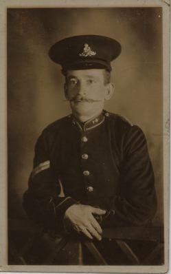 Corporal Sydney Harry