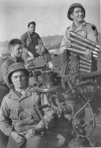Army Buddies WWII 546th AAA