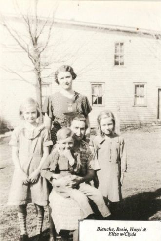 Shepherd Family, Virginia 1935
