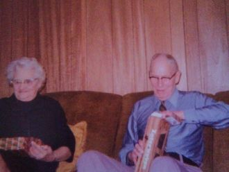 Lillie and Frank Woeller