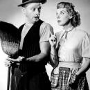 Art Carney and Joyce Randolph