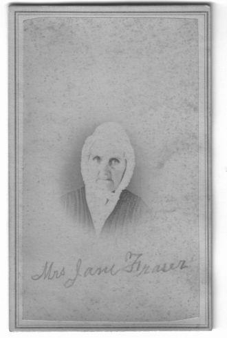 Mrs. Jane Fraser