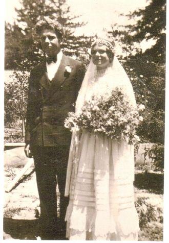 Paul and Alice Travis' wedding