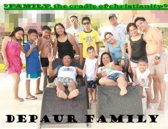 Depaur Family, Philippines