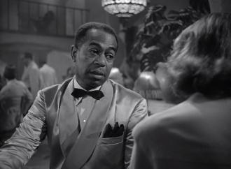 """Arthur """"Dooley"""" Wilson and Ingrid Bergman"""