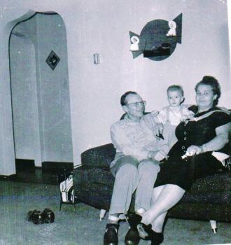 Dale and Vera with Grandson Steven Scott