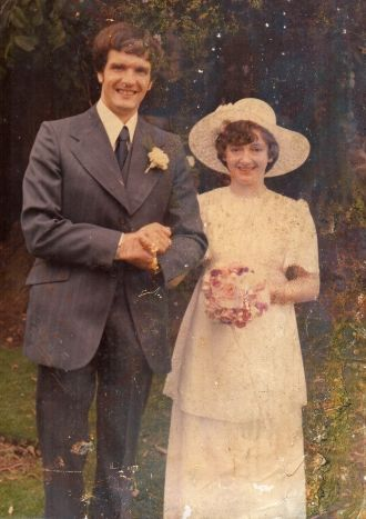 John & Margaret (Handley) Mantova Wedding