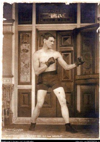 Jimmy Clabby World Class Boxer