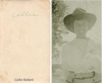 "A photo of Caroline ""Callie"" Ballard"