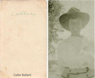 """Caroline """"Callie"""" Ballard"""