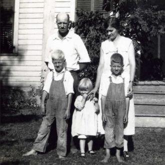 Bessie Estella Swarthout Stewart family