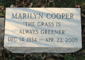Marilyn Cooper gravesite