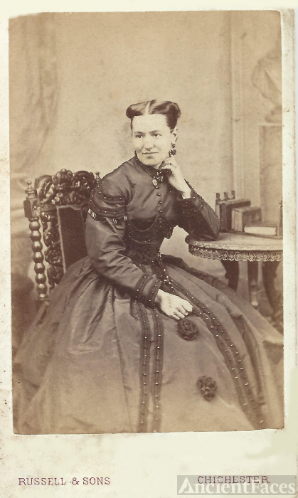 Unknown Lady, England 1863