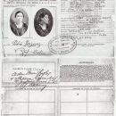 Petra Pena (Yniguez), 1st Visa
