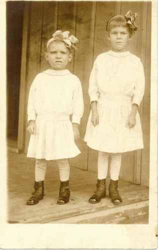 Children with Bows