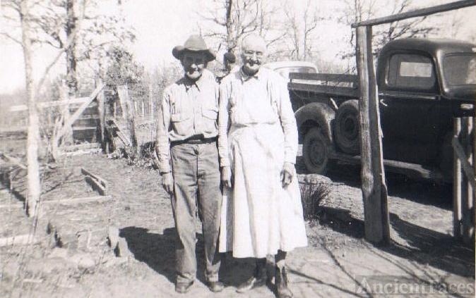 Ellsworth & Elizabeth (Taylor) Gilleland, Oklahoma