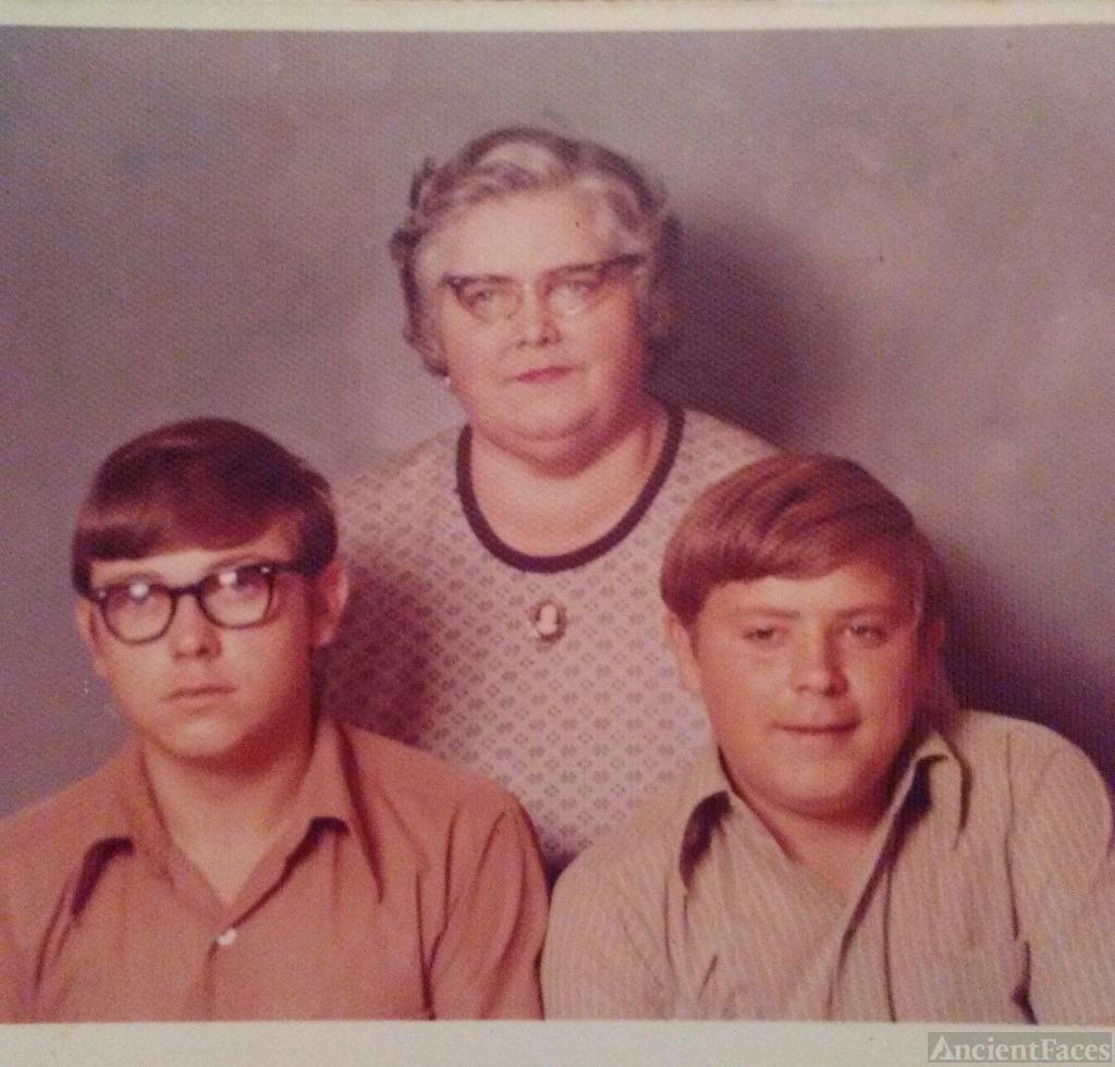 Harvey Jack Brock Family