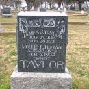 Mollie and James Taylor Gravesite