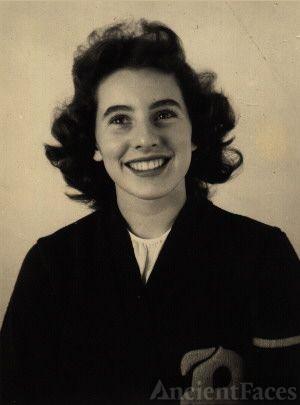 Shirley Phillips In  Letterman Jacket