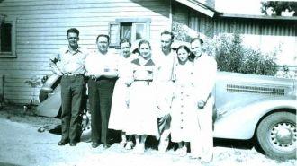 The Albert Clark Family, 1934 CA