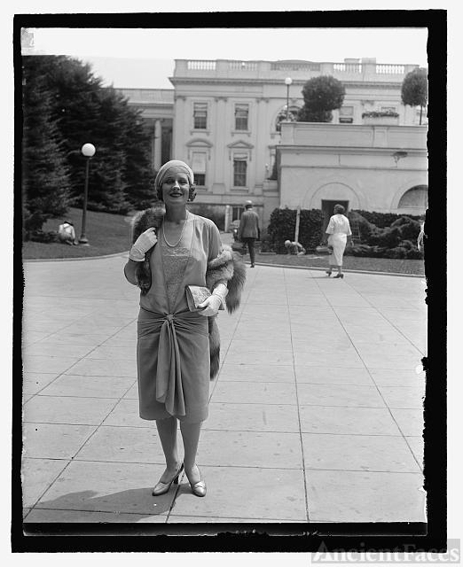 Norma Shearer (Mrs. Irving Thalberg), 7/24/29