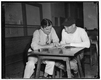 George Marshall and Ray Flaherty