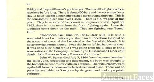 John Millard Barnes story