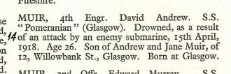 David Andrew Muir obiturary