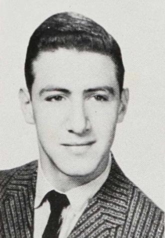 Ira Pomerantz - 1957 Senior Class Photo - James Madison High School