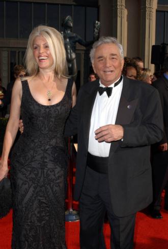 Peter Falk and Shera Danese
