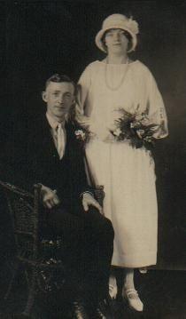 Wm.C.Peacock & Ethel Flint