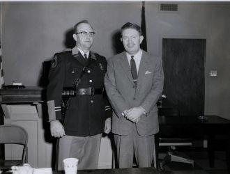 George  Simpson & Lewis Johnstone, Virginia
