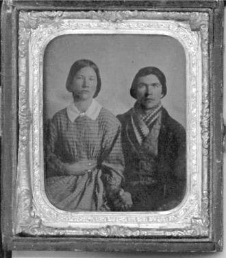 Unknown man & woman
