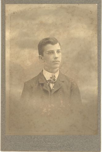 Unknown Young Man, MA