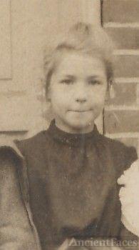 Clara Pierce, young school girl