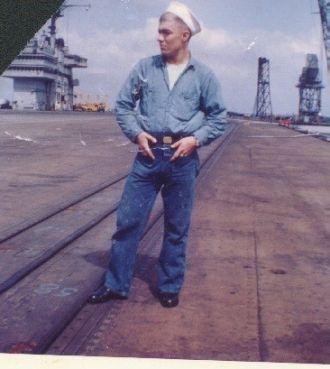 Charles h Jolin USS Saratoga CVA  60