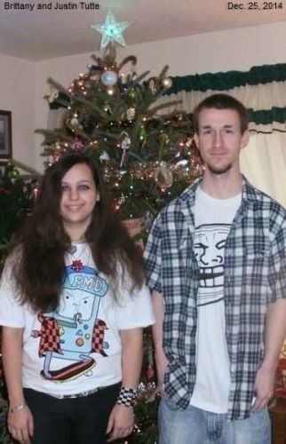 Brittany and Justin Tuttle, 2014