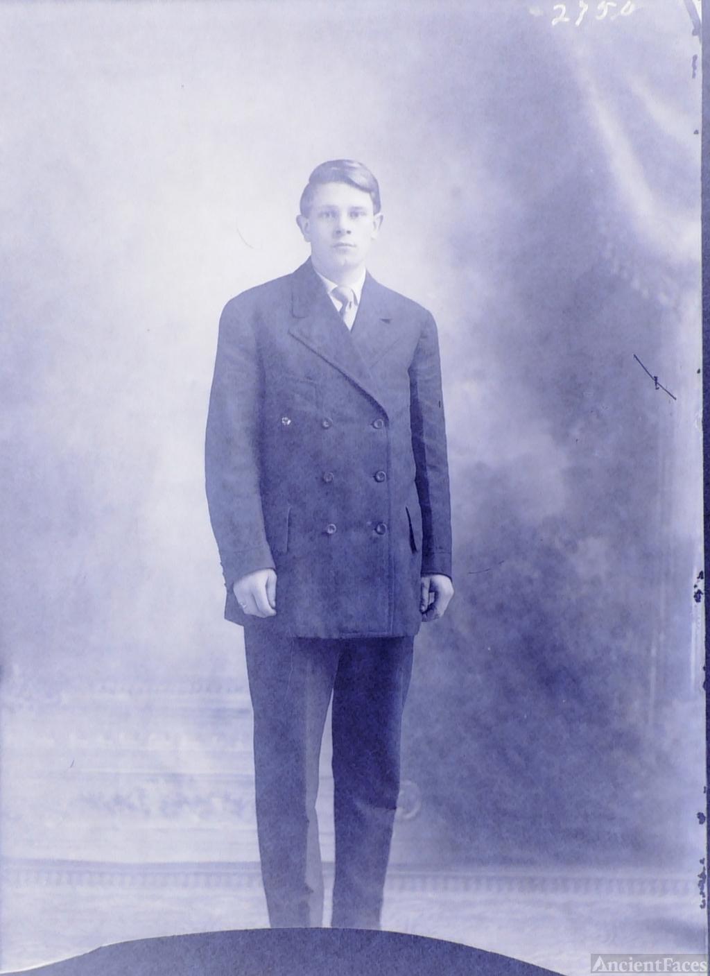 Unknown Standing Man