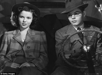 Dick Moore and Shirley Temple