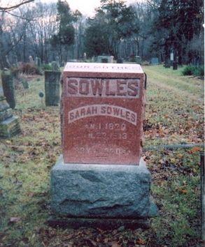 Sarah Boyer gravestone