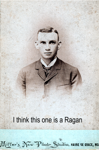 Ragan man? 1890 Maryland