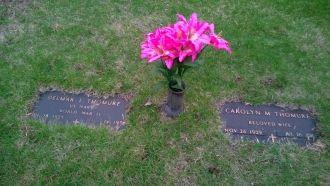 Carolyn (Wagner) &  Delmar Thomure gravesite