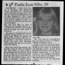 Paula Joan Ellis Obituary