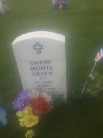 Garry Monte Green Gravesite
