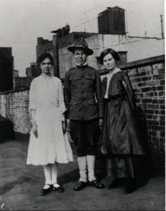 Mary, Sarah, & Francis Baxter, NYC 1917